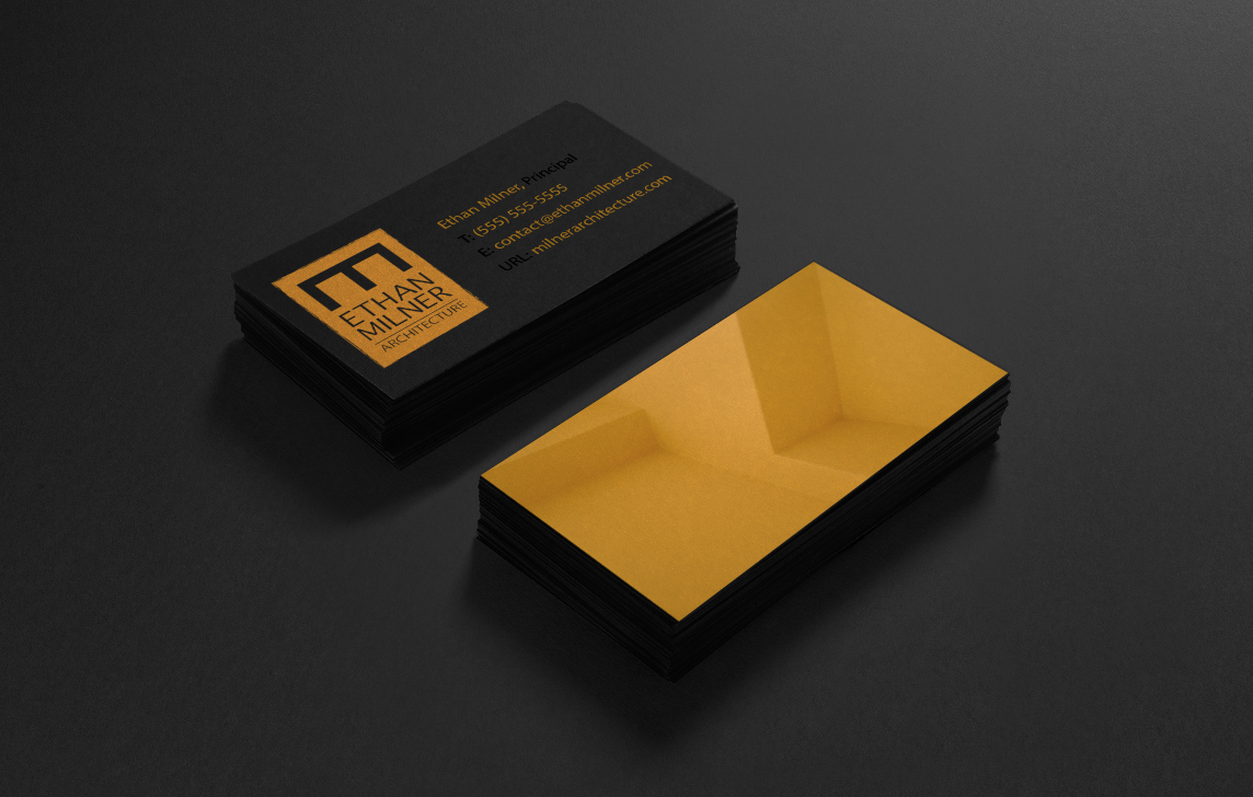 Business cards for architect