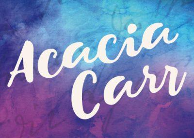 Acacia Carr / Identity Design
