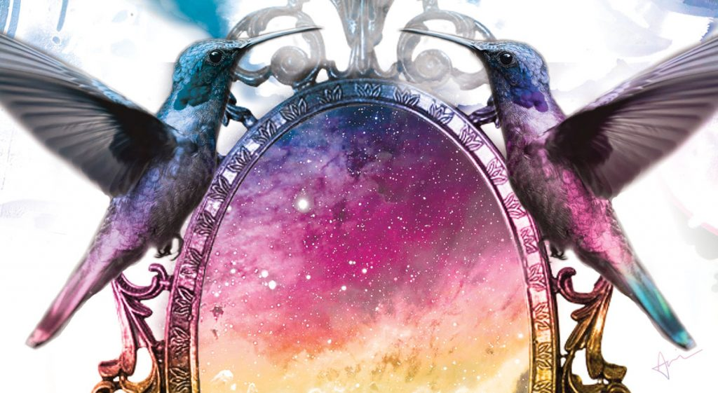 """Cosmic Mirror"" - Acacia Carr ""Uncommon Creative: The: Handbook for Unicorns"""