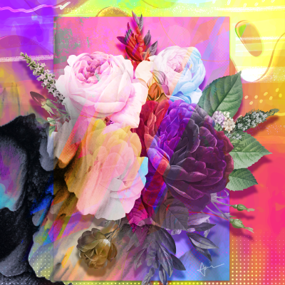 """Bouquet"" - Augmented Reality by Acacia Carr"