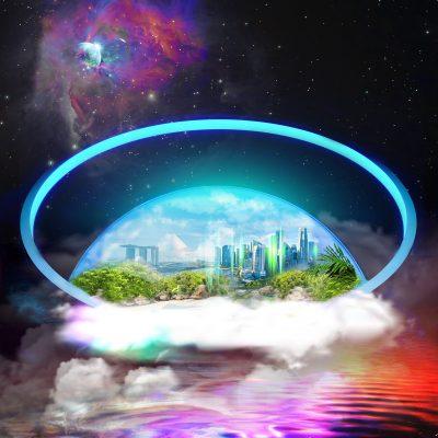 """Bubblezone"" - Artwork by Acacia Carr"