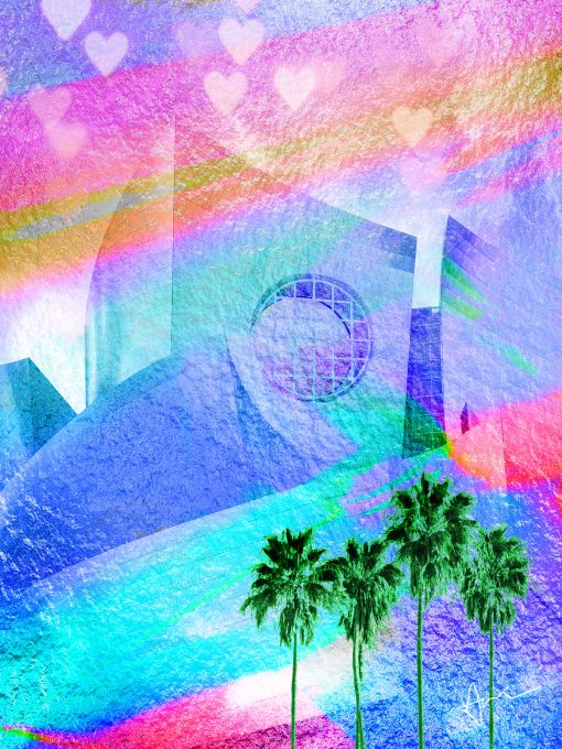 """Dreamhouse"" - Artwork by Acacia Carr"