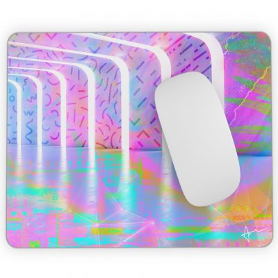 """Lucid"" - Mousepad by Acacia Carr, copyright 2020. All rights reserved."