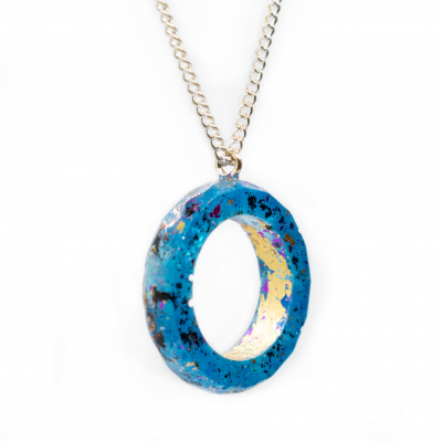 """""""Ring"""" Necklace in Ecoresin - Handmade by Acacia Carr"""