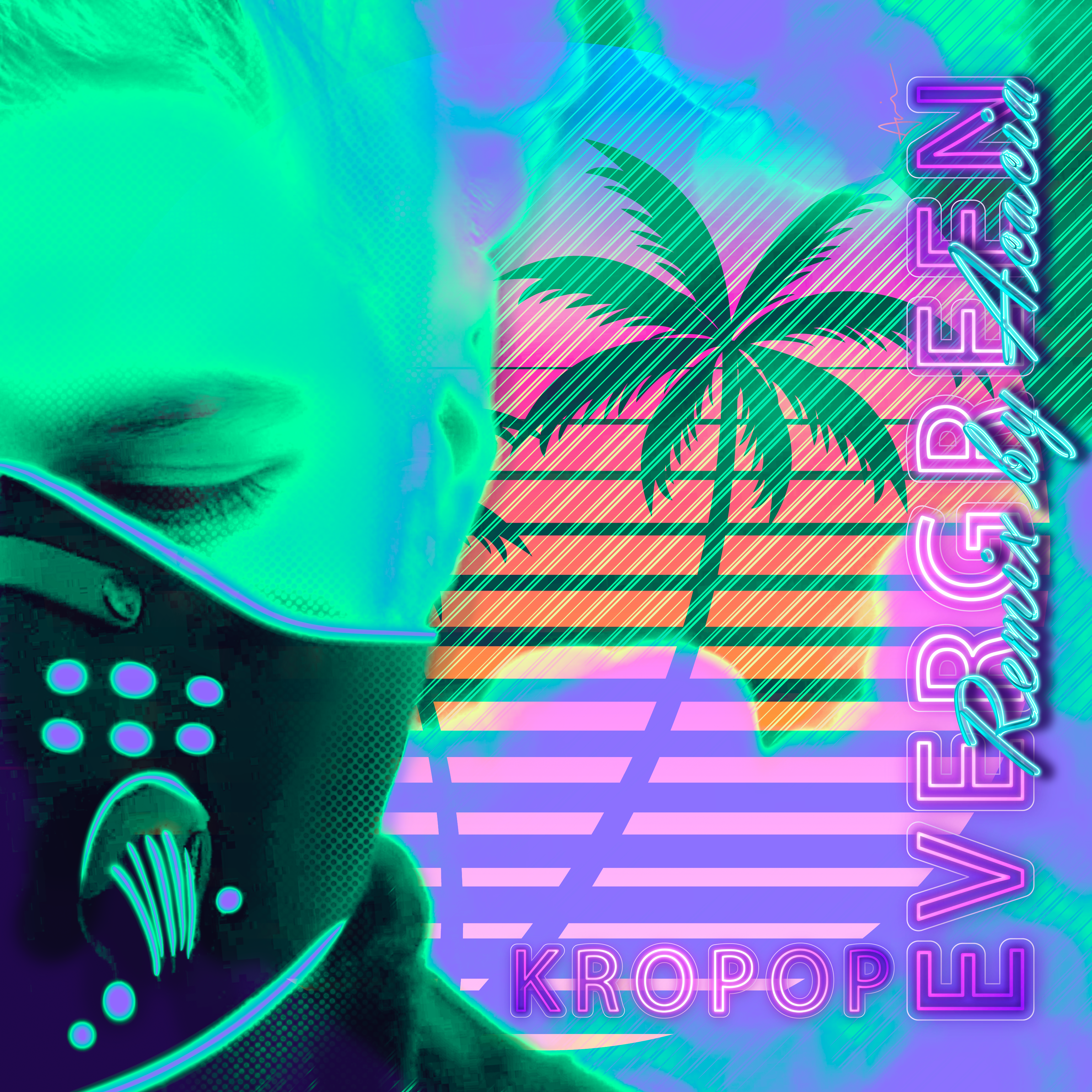 """""""Evergreen (Remix by Acacia)"""" - Dance Remix of Kropop's """"Evergreen"""" - Copyright Acacia Carr and Kropop, 2021. All rights reserved. Artwork by Acacia Carr"""