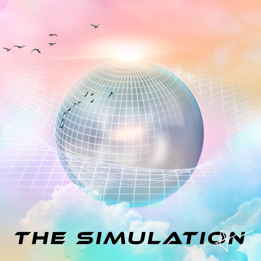 """""""The Simulation"""" - A new album by Acacia Carr. Album cover artwork by Acacia Carr"""