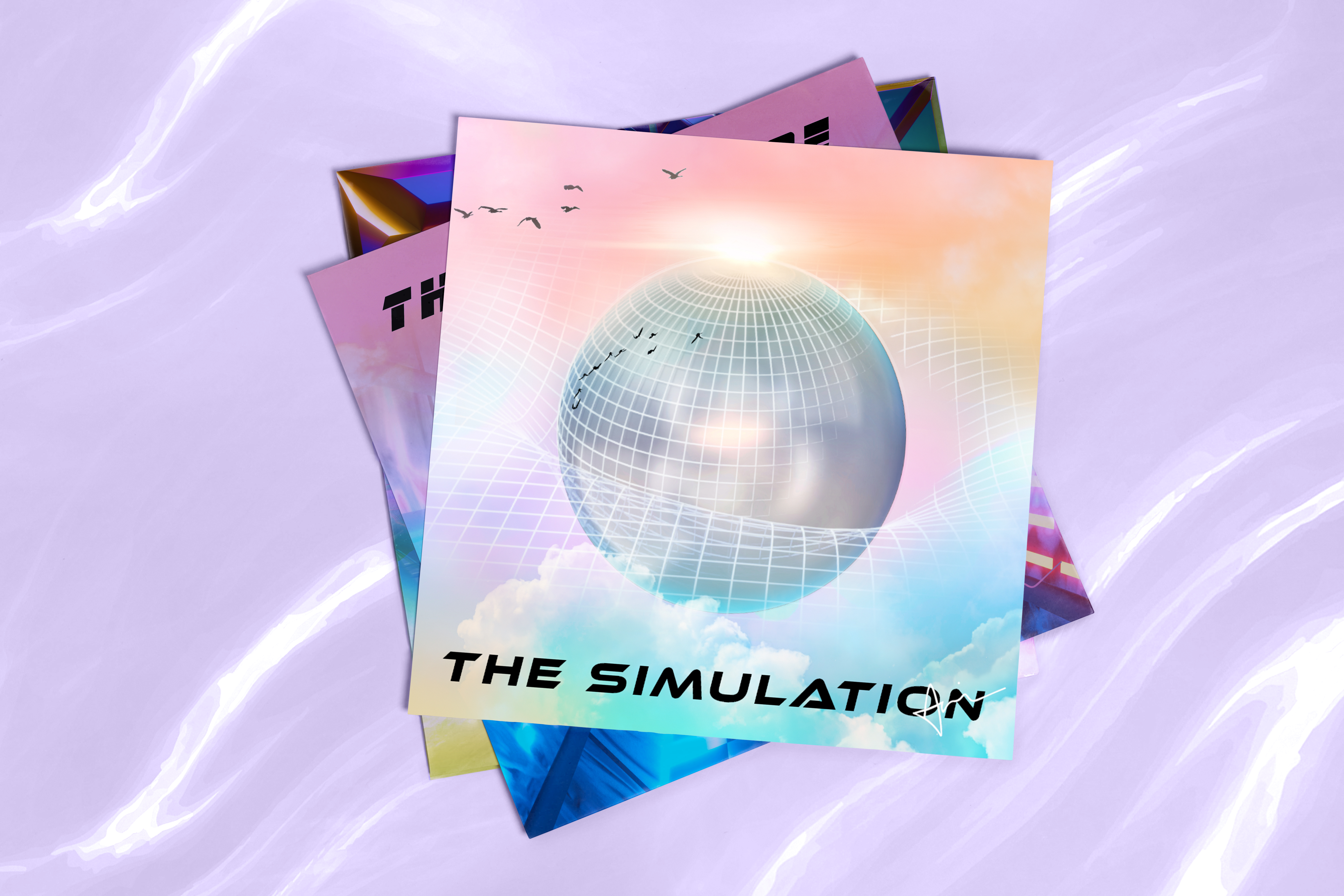 The Simulation - An Electronic Trance and Trip Hop Album by Acacia Carr, 2021
